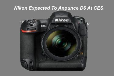Nikon D6 camera 2019