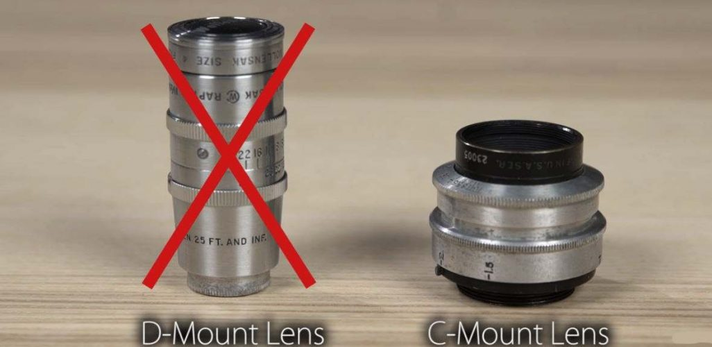 Put C-mount 16mm Video Camera Lens On MFT