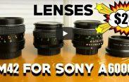 Best M42 Lenses Sony
