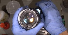 How To Repair Canon Lens 50mm FD F1.4
