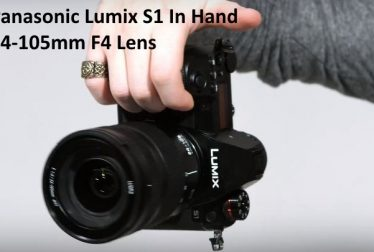 Panasonic Lumix S1 In Hand Teaser Video With 24-105mm F4 Lens
