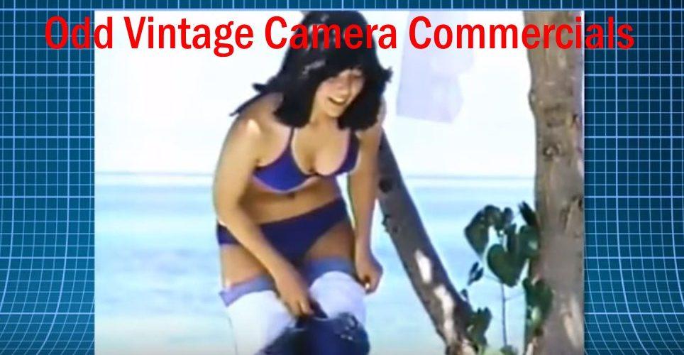 Odd Classic Vintage Camera Commercials