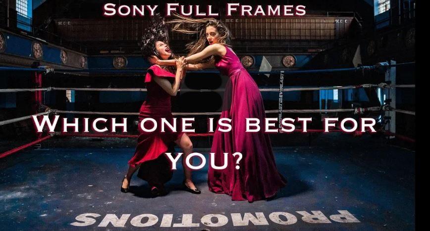 Sony A7iii vs Sony A7Riii vs Sony A9