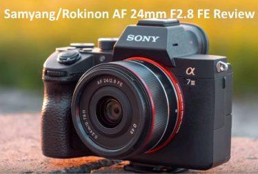 Samyang Rokinon AF 24mm F2.8 FE review