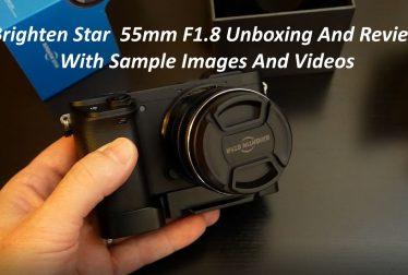 Brighten Start 55mm Review test Video