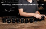 Top Vintage 50mm Lens Comparison For Best 10