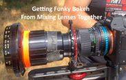 vintage lens combo Funky Bokeh