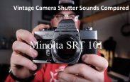 40 Vintage camera shutter sounds compared