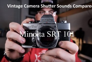 40 Vintage camera shutter sounds compared