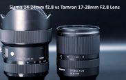 Sigma 14-24mm f2.8 vs Tamron 17-28mm F2.8 Lens