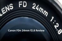 Canon FDn 24mm f2.8 Review