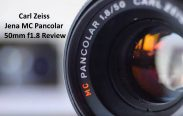 Carl Zeiss Jena MC Pancolar 50mm f1.8 Review