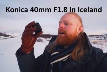 Konica 40mm f1.8 Iceland