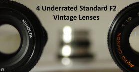 Underrated Top Standard F2 Ish Vintage Lenses