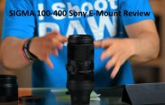 SIGMA 100-400 Sony E-Mount Review and test video