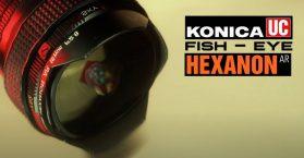 Konica UC Fish-Eye Hexanon AR 15 mm f2.8 Lens