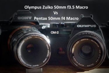 Olympus Zuiko 50mm f3.5 Macro Vs Pentax 50mm f4 Macro Review