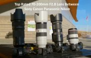 Top Rated 70-200mm F2.8 Lens Between Sony Canon Panasonic Nikon