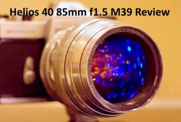 Helios 40 85mm f1.5 Review