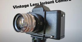 vintage lens instant camera Nons Sl42